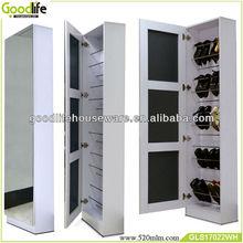 Full length mirror door High heels shoe rack furniture for shoe store from goodlife