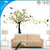 2014New Removable Wall stickers Kids Bird Tree Decor Art PVC Wall Stickers Removable ZooYoo Cartoon Wall decals