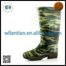 Men cheap pvc camo rain boots