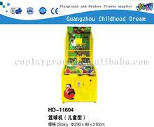 (HD-11604) amusement equipment funny children basketball machine/ funny children basketball machine/ children basketball