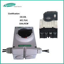 AC solar switch IP66