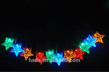 LED Star string light Christmas decorative indoor or outdoor string light