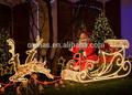 2014 cuerda de luces de navidad al aire libre decoración de escena