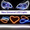 Hottest Sale Flexible led car light DC 12V Waterproof SMD335 chips led auto drl