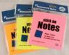 cheap custom logo printed homework sticky memo pad/ personalzed printing self-adhesive memo pad/ sticky note pad