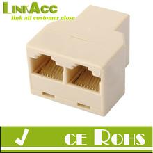 maneira 3 rj45 cat5e cat6e rede lan ethernet connector cabo y splitter adaper