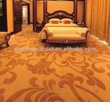80% wool , 20% nylon axminster carpet for hotel hallways
