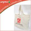 100% Natural Plain Cotton Shopping Bag Promotional