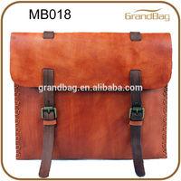 2014 new designer brand name men bag leather, vintage leather man bags