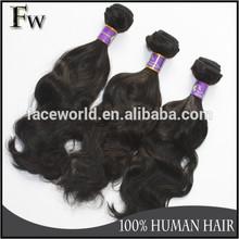 Faceworld hair soft hair best selling black human hair extensions
