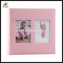 Neuen zwei Fensterrahmen niedliches baby fotoalbum für Baby/kinder mädchen, beste Erinnerung geschenke