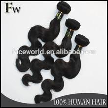Faceworld hair soft hair best selling 20 inch human hair extensions