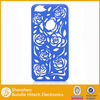 For iPhone 5 Hollow pc case hot selling,for iPhone 5 plastic cover