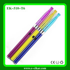 2014 the latest and High quality e cigarette 510 T6 electronic cigarette made in China 510 ecig with unique design on sale
