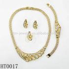 smart design cluster pave setting jewelry sets ring earring bracelets necklace sets