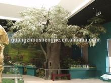 shengjiemanucturerออกแบบขายส่งผลิตdinasaurพิพิธภัณฑ์เมเปิ้ลต้นไม้ประดิษฐ์ตกแต่งคอลัมน์