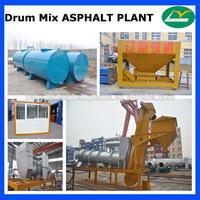 HHB60 small Asphalt Drum Mixer 60tph
