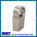 cnc de aluminio partes 7075 de cómplice del asiento para aeronaves