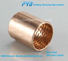 slide shoe bearing, brake shoe bushing bearing, break shoe bronze sleeve bushing