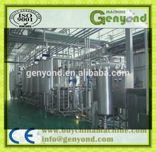 Complete UHT milk production line