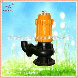 food processing sewage water drainage centrifugal submersible pump