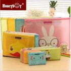 china supplier cheap cartoon funny animal PVC pencil case