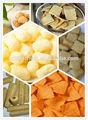 Snacks de máquina extrusora/milho/arroz tufado máquina de fazer o meu skype: dateany271