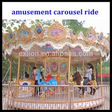 Outdoor&indoor Play Equipment theme park carousel, theme park
