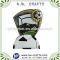 futbol hatıra plak reçine el sanatları