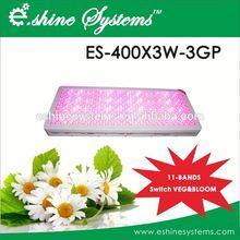 E.shine Hydroponic systems 400x3W LED grow light