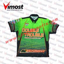 Custom sublimation auto motorcycling/racing shirts