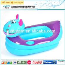 Cute cartoon inflatable swimming pool