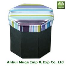 Eco friendly Foldable stool storage box for storage