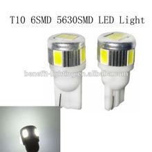 Super bright t10 6led 5630,t10 6smd light,car led bulb