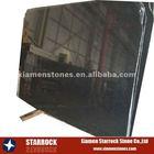 China natural stone granite black slabs