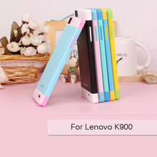 Super slim Mixed colors phone case for Lenovo K900