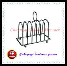chrome wire toast arrange holder rack CQWR21