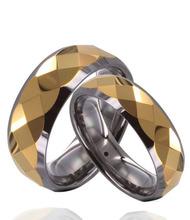 8mm Black Brushed Tungsten Carbide Men/women Wedding Ring Size 7-15