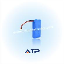 Chinese manufacturer selling 1400mah 7.4v rechargeable battery pack voltage 5v - 12v output
