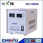 CE ROHS single phase 7000VA servo motor type 220V power system stabilizer