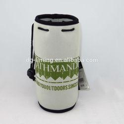 customized neoprene water beer bottle sleeve