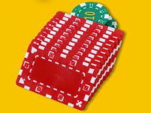 custom made rectangle shaped poker chips,31G ABS poker chips,square shaped poker chips