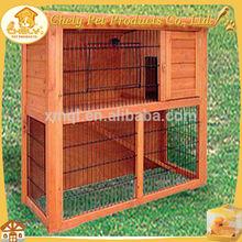 Cheap Double Decker Rabbit Hutch Wooden Rabbit House For Sale