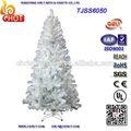 foot 7 familiar decorações de natal atacado branco artificial de árvores de natal com 500 dicas