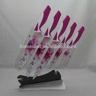 non-stick color kitchen knife set