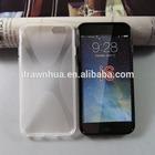 X shape tpu case for iphone6