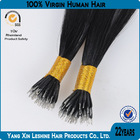 100% Human Virgin Unprocessed 7a 8a Grade Aliexpress Hot Selling Factory Wholesale Nano Hair