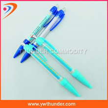 green color promotional banner pen