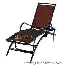 Outdoor furniture lazy beach folding lounger beach lounge chairs