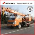 6 ton pequeno caminhão guindaste móvel para venda com preço baixo gnqy- 3200( linha única)